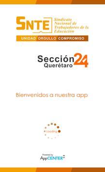 SNTE Seccion 24 poster