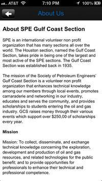 SPE GCS Young Professionals apk screenshot
