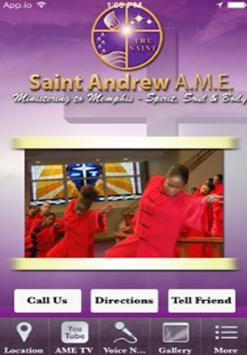 Saint Andrew AME poster