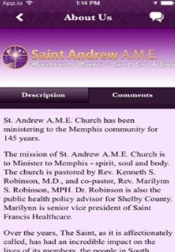 Saint Andrew AME apk screenshot