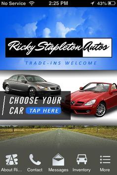 Ricky Stapleton Autos poster