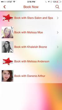 Stars Salon and Spa apk screenshot