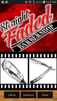 Straight Faded Barber Shop poster