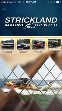 Strickland Marine Center poster