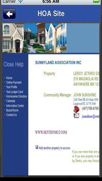 Sunnyland HOA apk screenshot