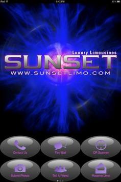 Sunset Limousine poster