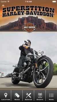 Superstition Harley-Davidson® poster
