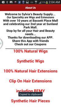 Sylvia's Beauty Supply apk screenshot