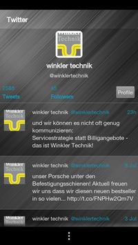 Winkler Technik apk screenshot
