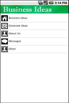 Business Ideas Lite apk screenshot