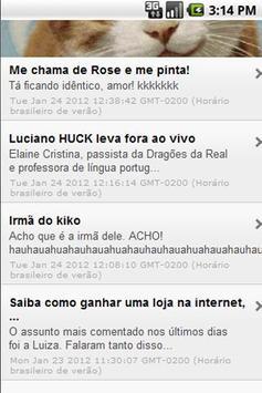 Blogs de Humor Brasileiros apk screenshot