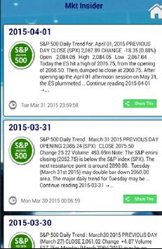 The Market Insider apk screenshot