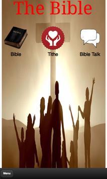 The Holy Bible KJV poster