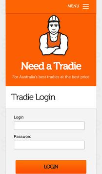 Need a Tradie apk screenshot