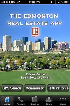 The Edmonton Real Estate App poster