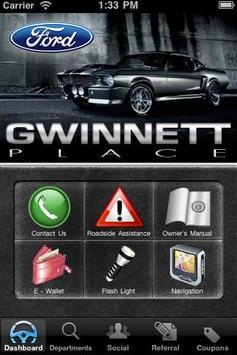 Gwinnett Place Ford poster