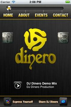 Dj Dinero apk screenshot