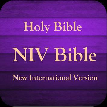 NIV Bible Study poster