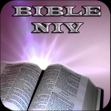 Bible NIV for Study poster