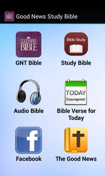 Good News Study Bible poster