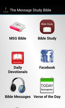 The Message Study Bible poster
