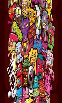 Doodle Art Kertas Dinding apk screenshot
