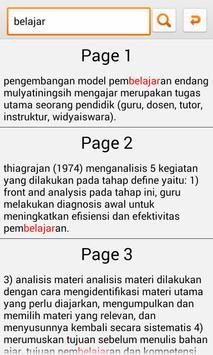 Pengembangan Pembelajaran apk screenshot