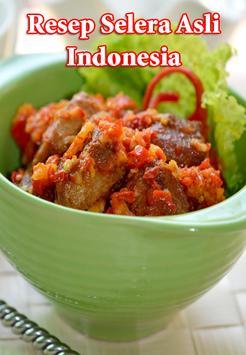 Resep Selera Asli Indonesia poster