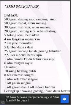 Resep Selera Asli Indonesia apk screenshot
