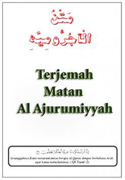 Terjemah Matan Al Ajurumiyyah poster