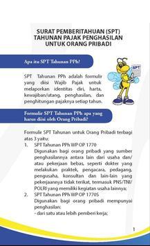 Panduan Pajak: SPT Pribadi apk screenshot