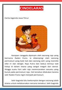 Cerita Rakyat CINDELARAS poster