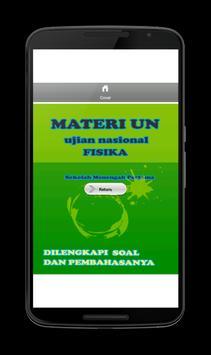 Soal UN SMP Fisika lengkap apk screenshot