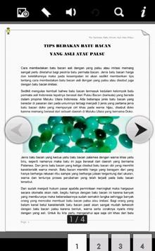 Tips Batu Bacan Asli dan Palsu apk screenshot