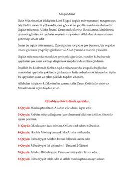 Etiqad Kitabi apk screenshot