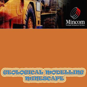 Geological Modelling Minescape poster