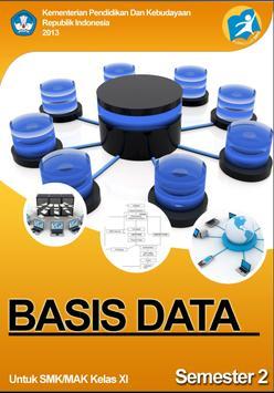 Buku Basis Data 2 XI 1 poster
