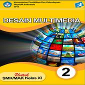 Buku Desain Multimedia XI 2 icon