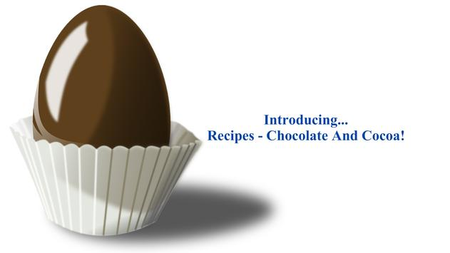 Chocolate Recipes apk screenshot