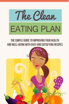Clean Eating Plan poster