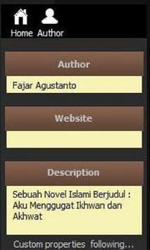 Aku Menggugat Akhwat & Ikhwan apk screenshot