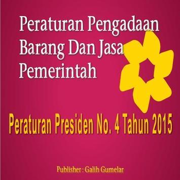 Barang Jasa Perpres 4 2015 poster