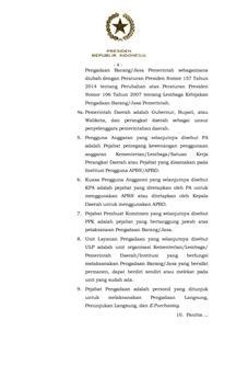 Barang Jasa Perpres 4 2015 apk screenshot