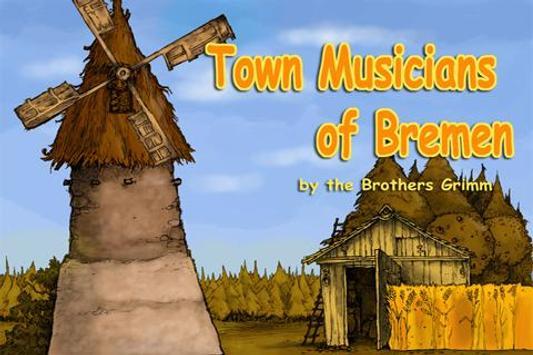Book Town Musicians of Bremen poster