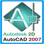 Autocad 2007 2D icon