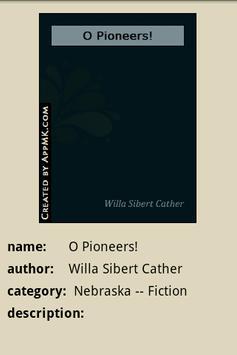 O Pioneers! apk screenshot