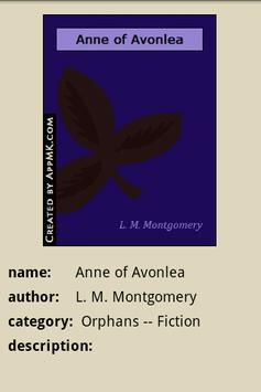 Anne of Avonlea apk screenshot