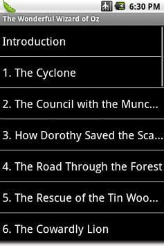 The Wonderful Wizard of Oz apk screenshot