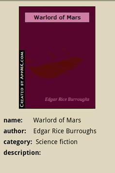 Warlord of Mars apk screenshot