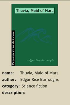 Thuvia, Maid of Mars apk screenshot